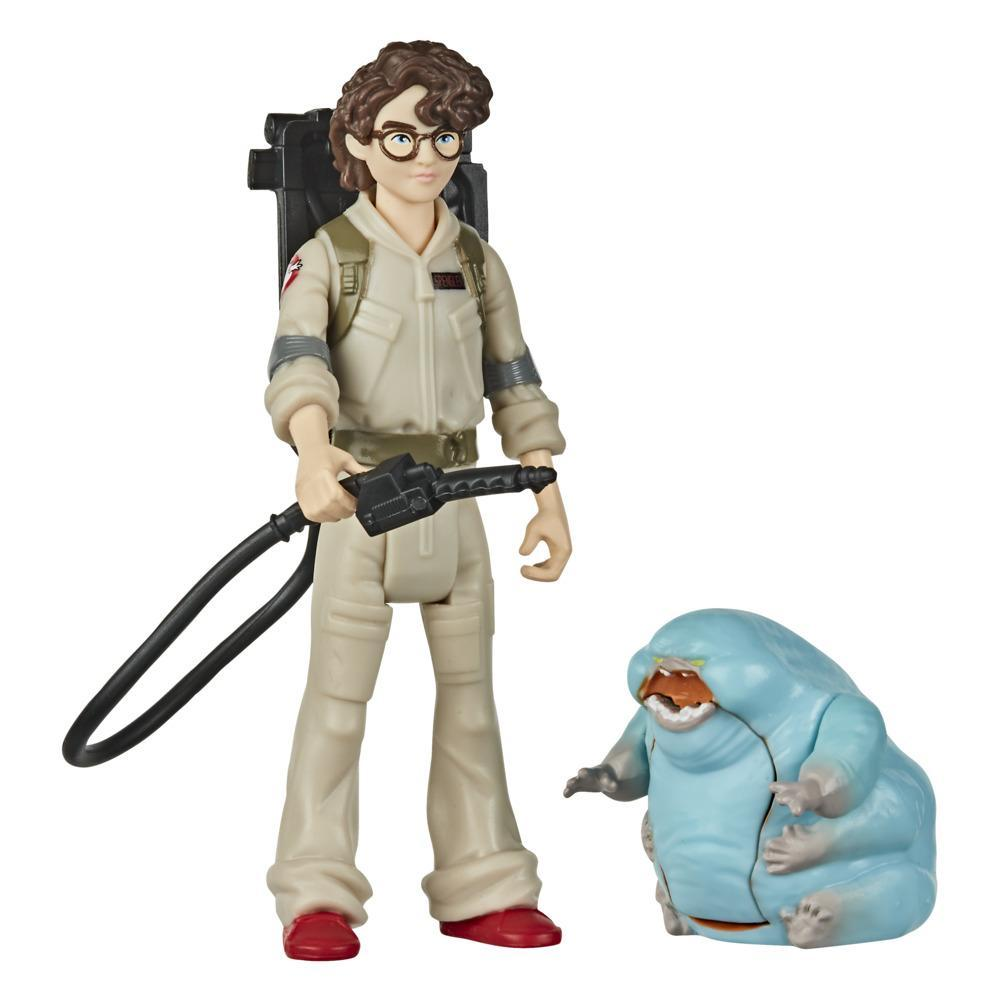 Ghostbusters Fright Features Phoebe Figure with Interactive Ghost Figure and Accessory, Toys for Kids Ages 4 and Up