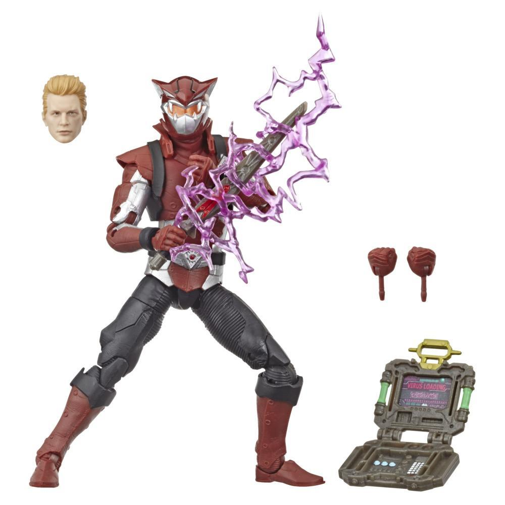 Power Rangers Lightning Collection 6-Inch Beast Morphers Cybervillain Blaze Collectible Action Figure Toy with Accessories