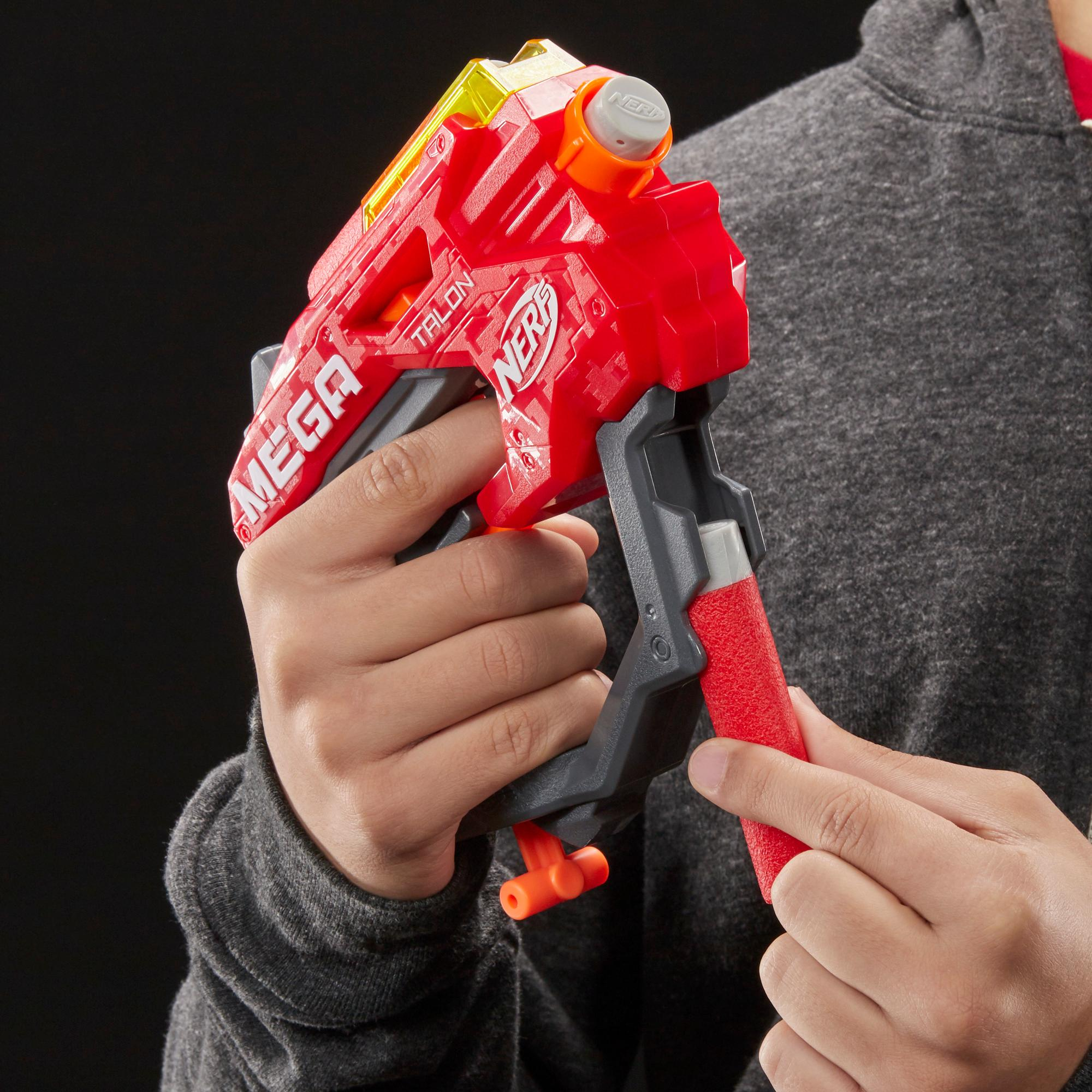 Nerf Mega Talon Blaster -- Includes 3 Official AccuStrike Nerf Mega Darts -- For Kids, Teens, Adults