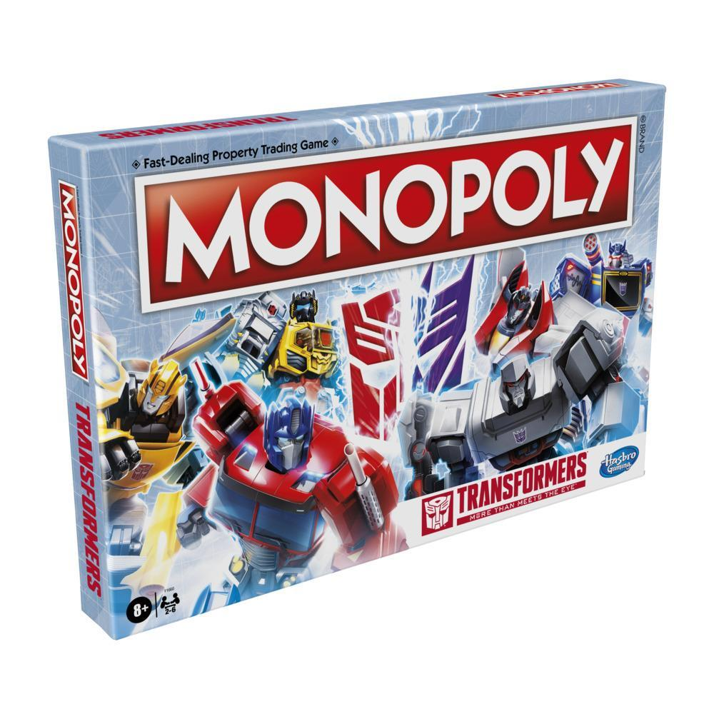 Monopoly: Transformers Edition Board Game for Kids Ages 8 and Up
