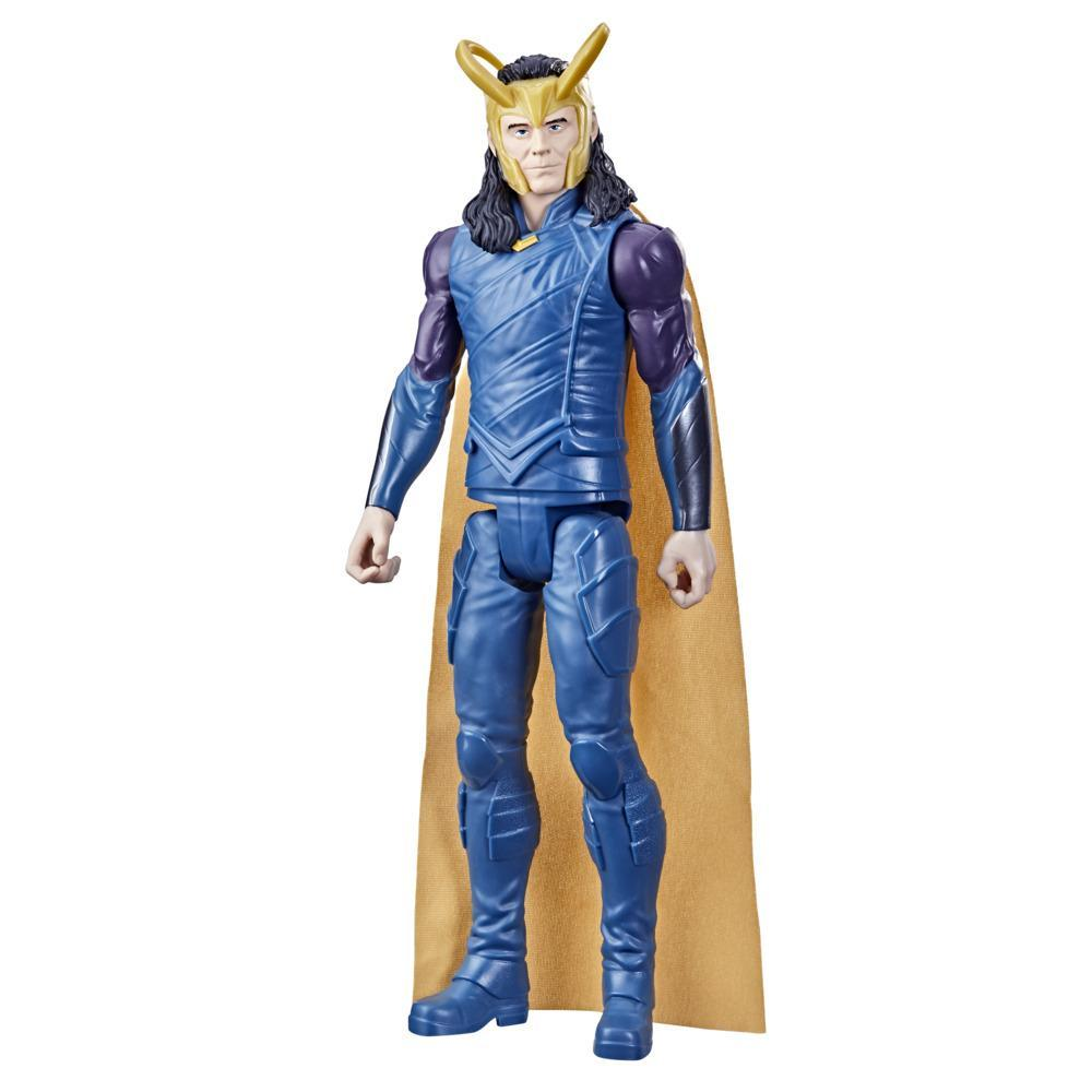 Marvel Avengers Titan Hero Series Collectible 12-Inch Loki Action Figure, Toy For Ages 4 and Up
