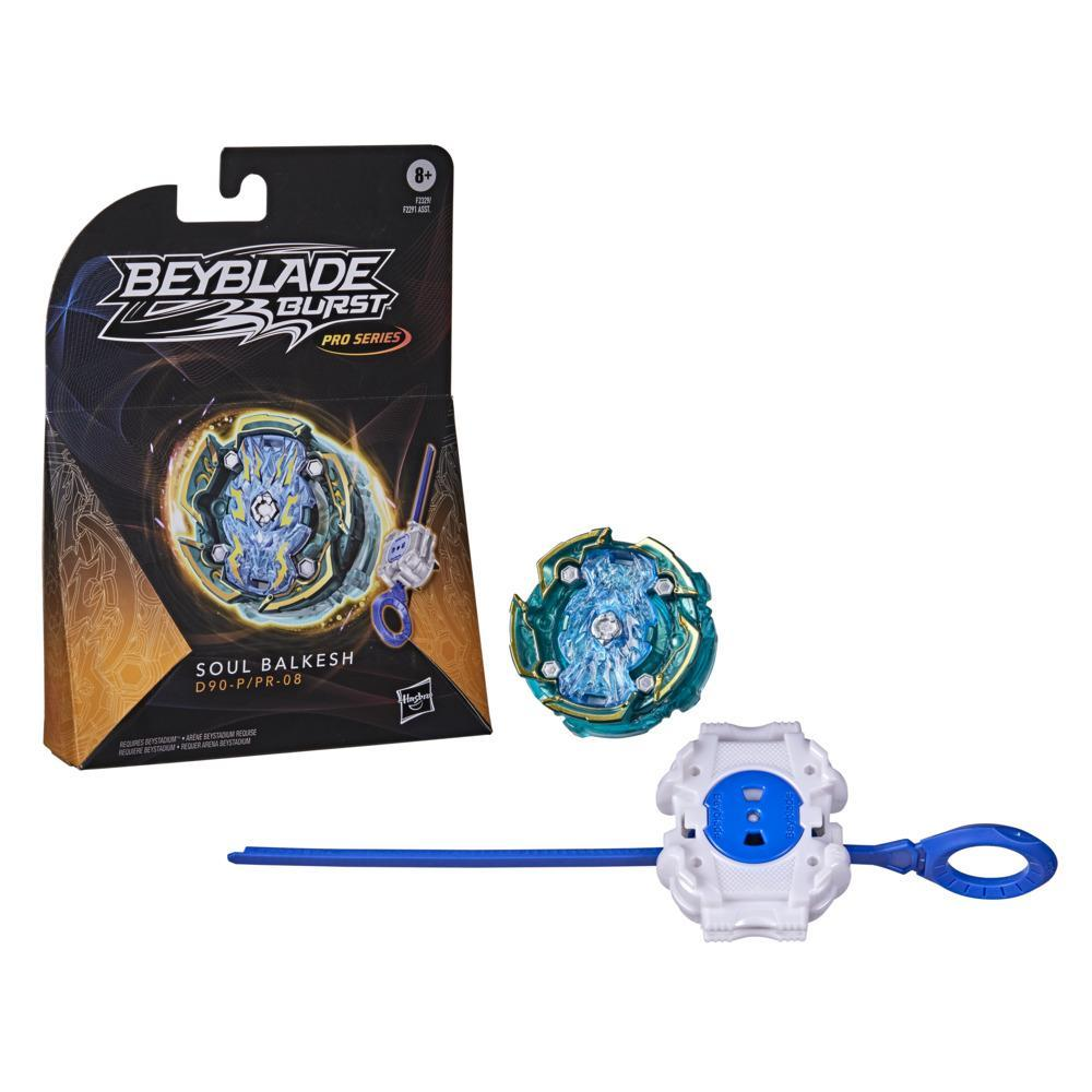 Beyblade Burst Pro Series Soul Balkesh Spinning Top Starter Pack -- Battling Game Top with Launcher Toy