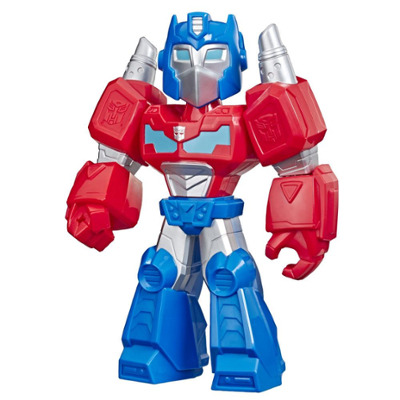 Playskool Heroes Mega Mighties Transformers Rescue Bots Academy Optimus Prime Figure, Toys for Kids Ages 3 and Up