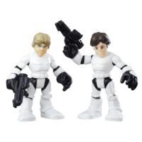 Playskool Heroes Galactic Heroes Luke Stormtrooper and Han Stormtrooper