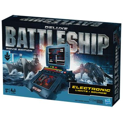 Deluxe BATTLESHIP Movie Edition Game