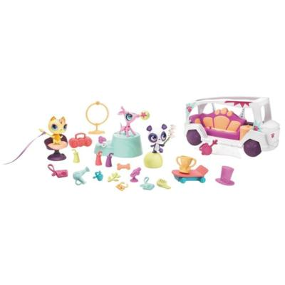 LITTLEST PET SHOP TOTALLY TALENTED STARS & LIMO Set