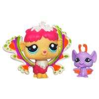 LITTLEST PET SHOP Fairies SHIMMERING SKY Rain Prism Fairy and Bat
