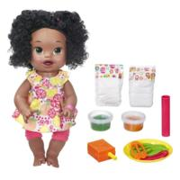Baby Alive Super Snacks Snackin' Sara - Dark Brown Hair