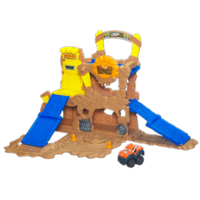 TONKA CHUCK & FRIENDS FOLD 'N GO MUD MOUNTAIN Playset