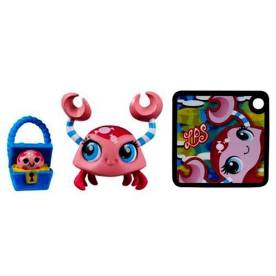 Littlest Pet Shop 2-Pack (Crab Pet and Crab Friend)