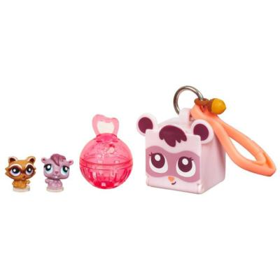 LITTLEST PET SHOP TEENSIES Pack (Squirrel and Raccoon)