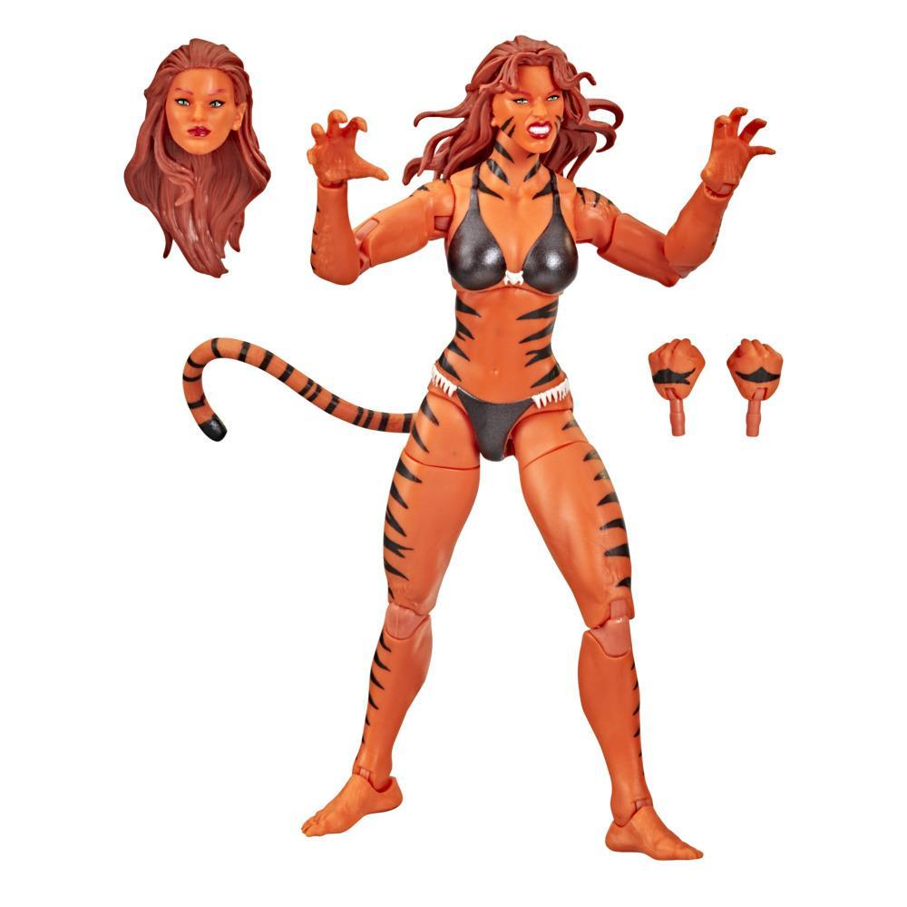 Marvel Legends Series Avengers 6-inch Scale Marvel's Tigra Figure, For Kids Age 4 And Up