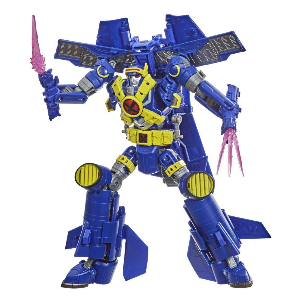 Transformers Generations -- Transformers Collaborative: Marvel Comics X-Men Mash-Up, Ultimate X-Spanse -- Ages 8 and Up, 8.5-inch Leader Class
