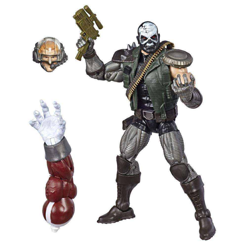 Hasbro Marvel Legends Series 6-inch Collectible Action Figure Skullbuster Toy (X-Men Collection)