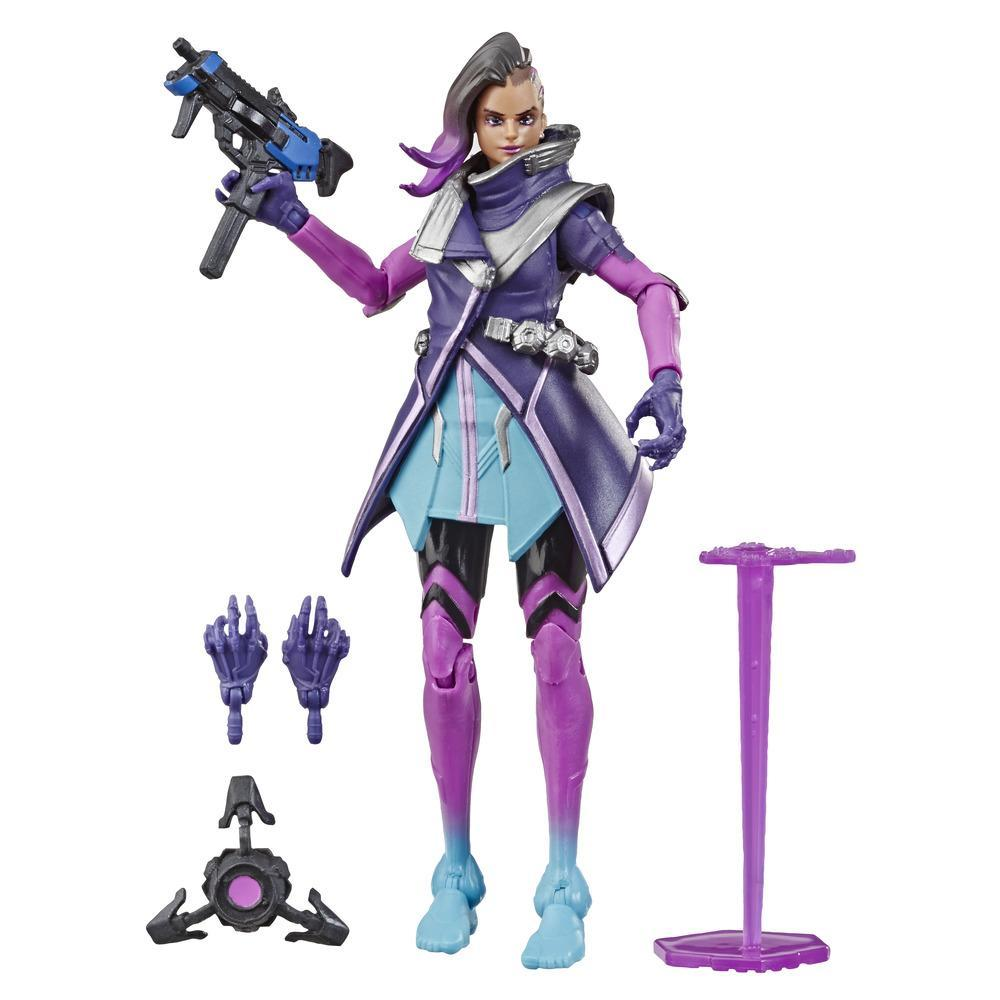 Overwatch Ultimates Series Sombra 6-Inch Collectible Action Figure