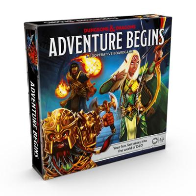 Dungeons & Dragons Adventure Begins Cooperative Fantasy Board Game