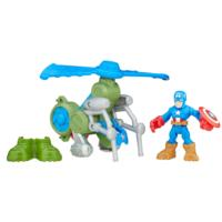 Playskool Heroes Super Hero Adventures Jungle Copter Captain America