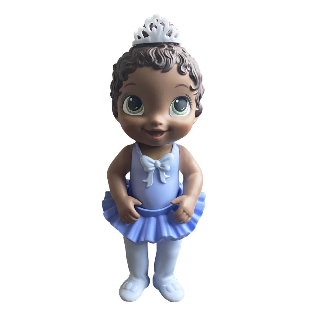 Baby Alive Sweet Ballerina Baby Doll, Purple, Ballet Doll, Tutu Skirt, Tiara, Dark Brown Hair Toy for Kids Ages 3 Years and Up
