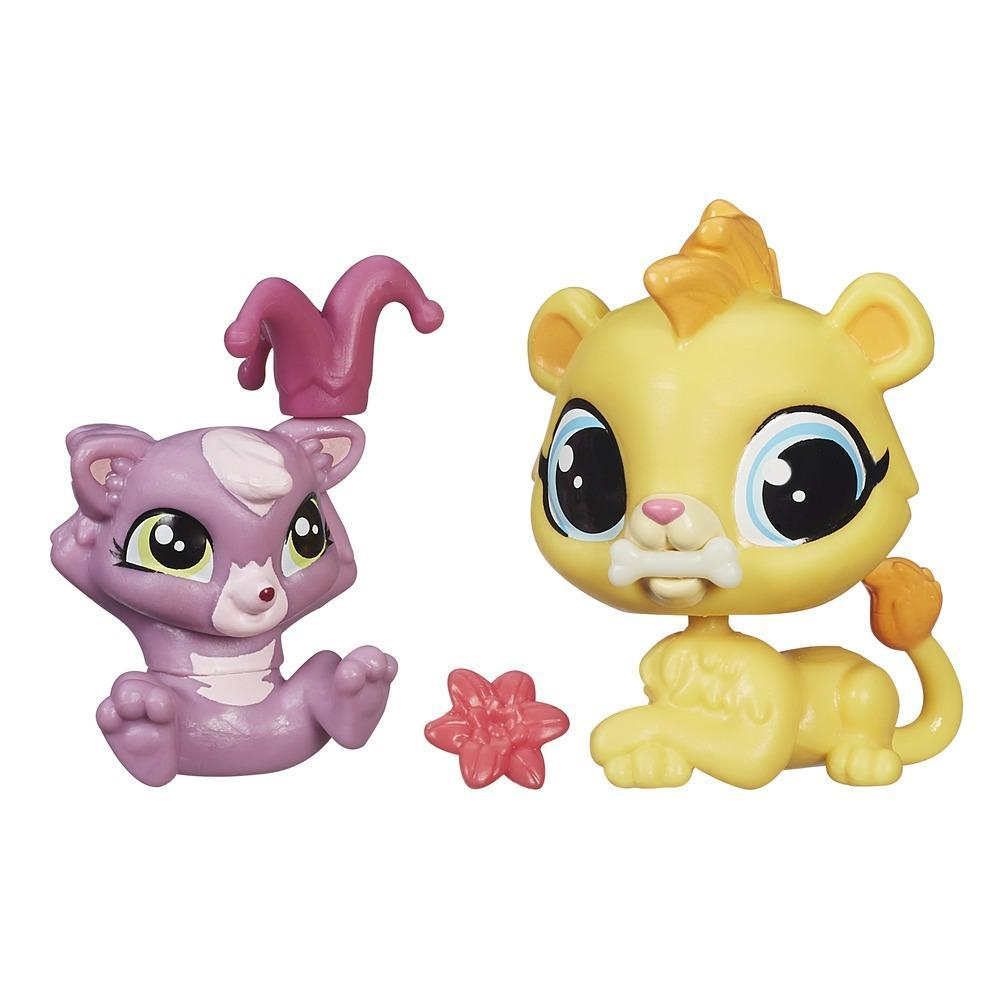Littlest Pet Shop Pet Pawsabilities Leona Filbert & Cackles Rossi
