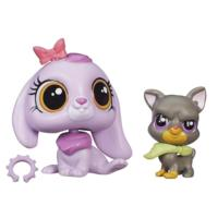 Littlest Pet Shop Pet Pawsabilities Lilac Bennett & Bowzer Newton