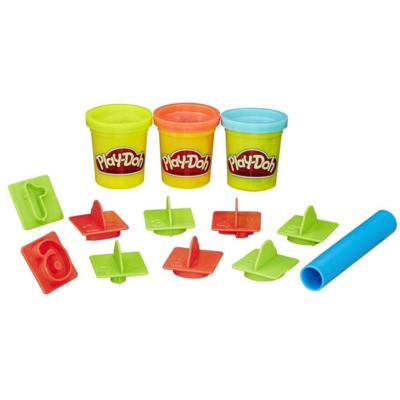 Play-Doh Fun with Numbers Bucket