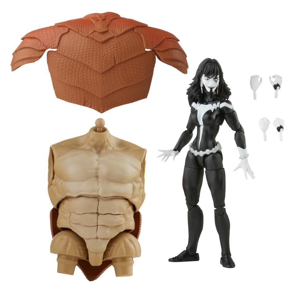 Marvel Legends Series Marvel's Shriek 6-inch Collectible Action Figure Toy and 4 Accessories and 2 Build-A-Figure Part(s)