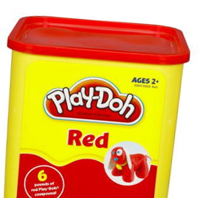 Play-Doh 6-Pound Container – Red Hasbro
