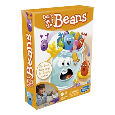 Don't Spill the Beans, Easy and Fun Preschool Board Game For Kids Ages 3 and Up, for 2 Players