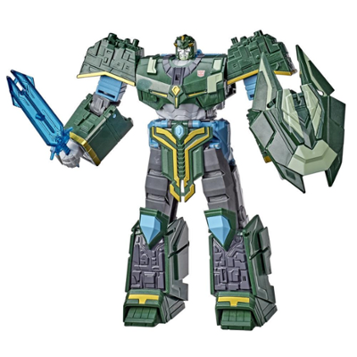 Transformers Bumblebee Cyberverse Adventures Ultimate Iaconus Action Figure, Energon Armor, Ages 6 and Up, 9-inch