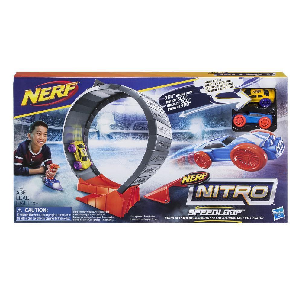 Nerf Nitro Speedloop Stunt Set