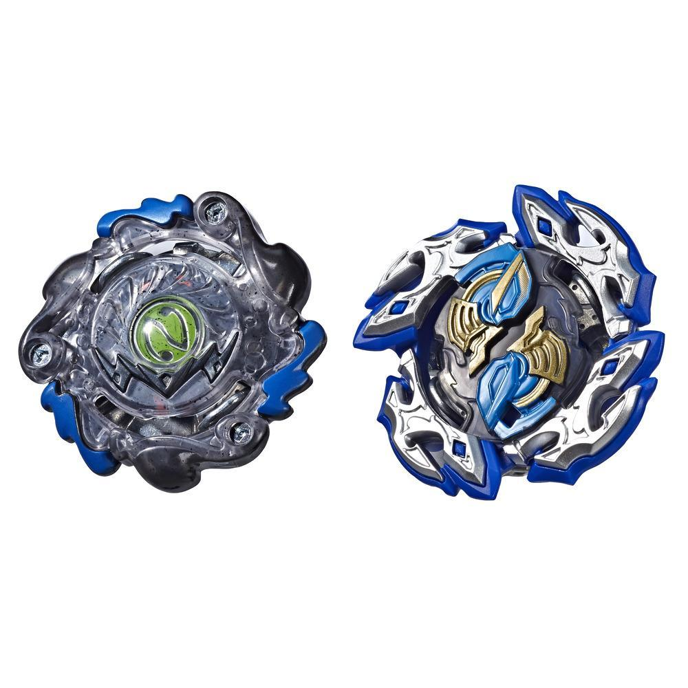 Beyblade Burst Turbo Slingshock Dual Pack Dullahan D4 and Dark-X Nepstrius N4