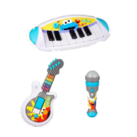 PLAYSKOOL SESAME STREET LET'S ROCK! Instruments Value Pack