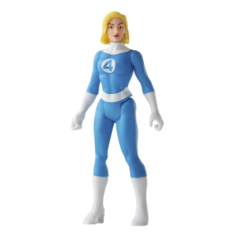 Hasbro Marvel Legends 3.75-inch Retro 375 Collection Invisible Woman Action Figure Toy