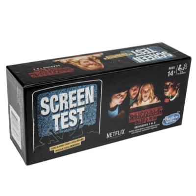 Screen Test Game: Stranger Things