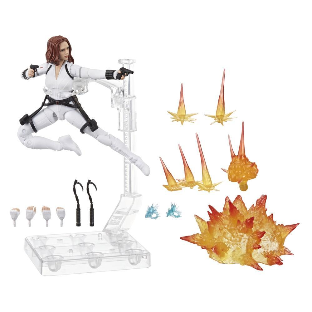 Hasbro Marvel Black Widow Legends Series 6-inch Collectible Black Widow Action Figure Toy, Includes 12 Accessories, Ages 4 And Up