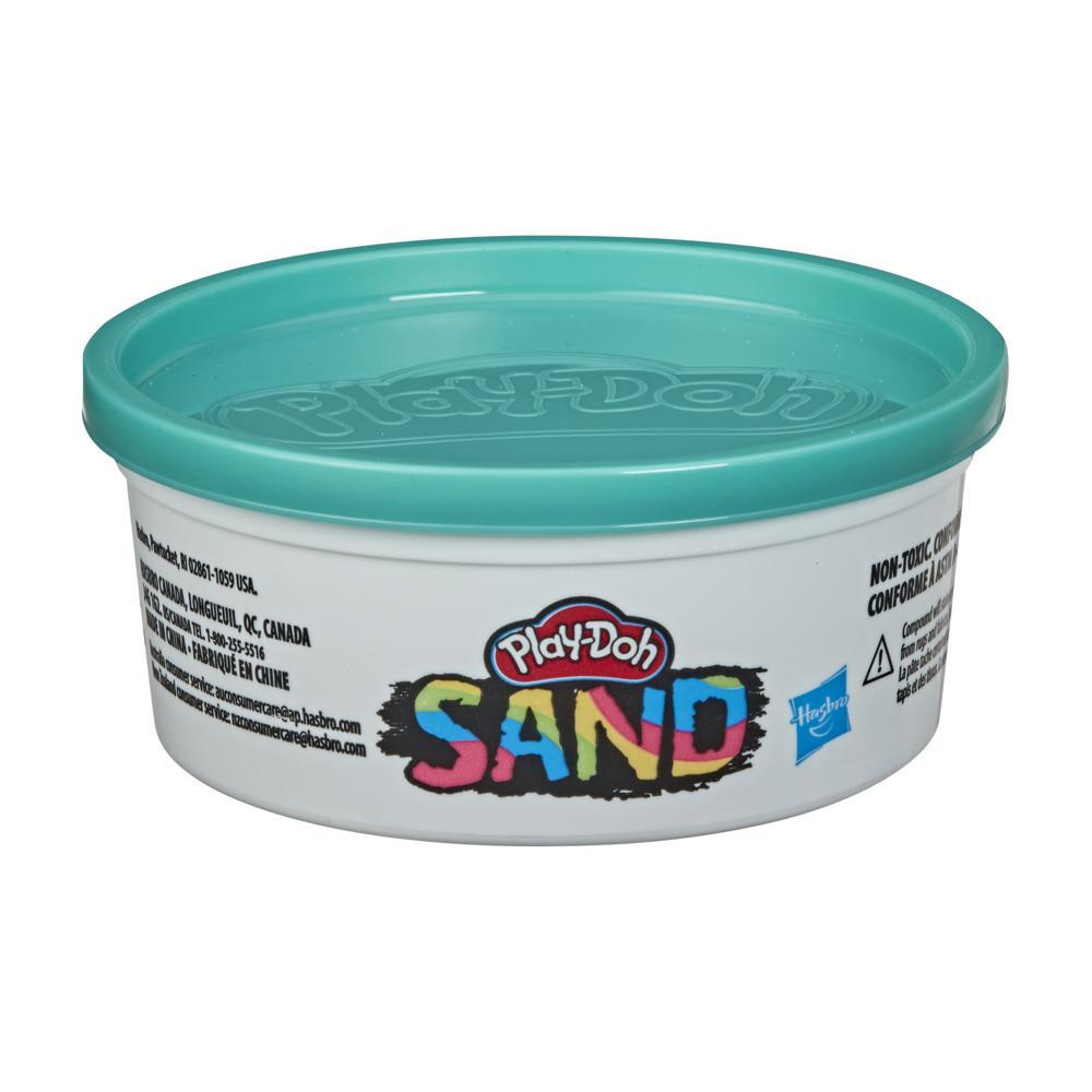 Play-Doh Sand Teal Single 6-Ounce Can of Non-Toxic Play Sand for Kids 3 Years and Up
