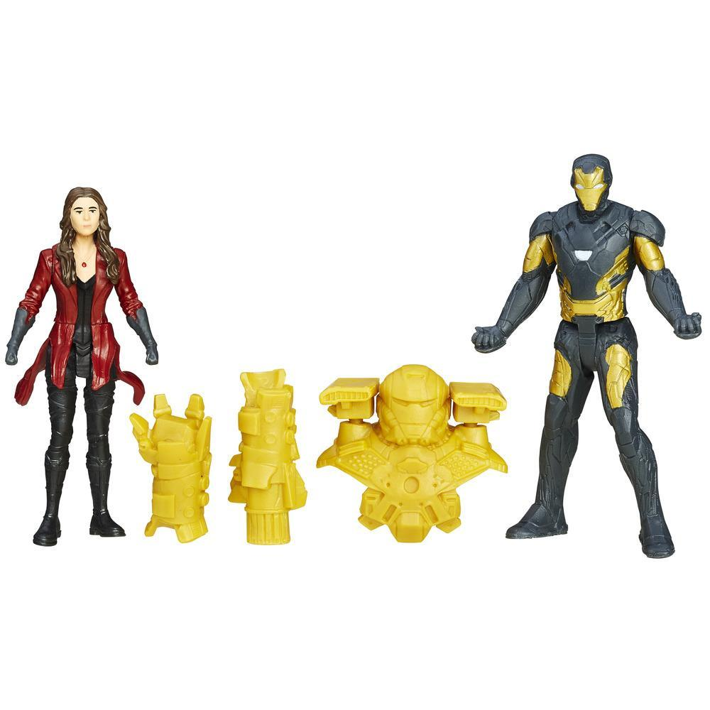 "Marvel Captain America Civil War ""Concept Series"" Iron Man vs. Scarlett Witch"