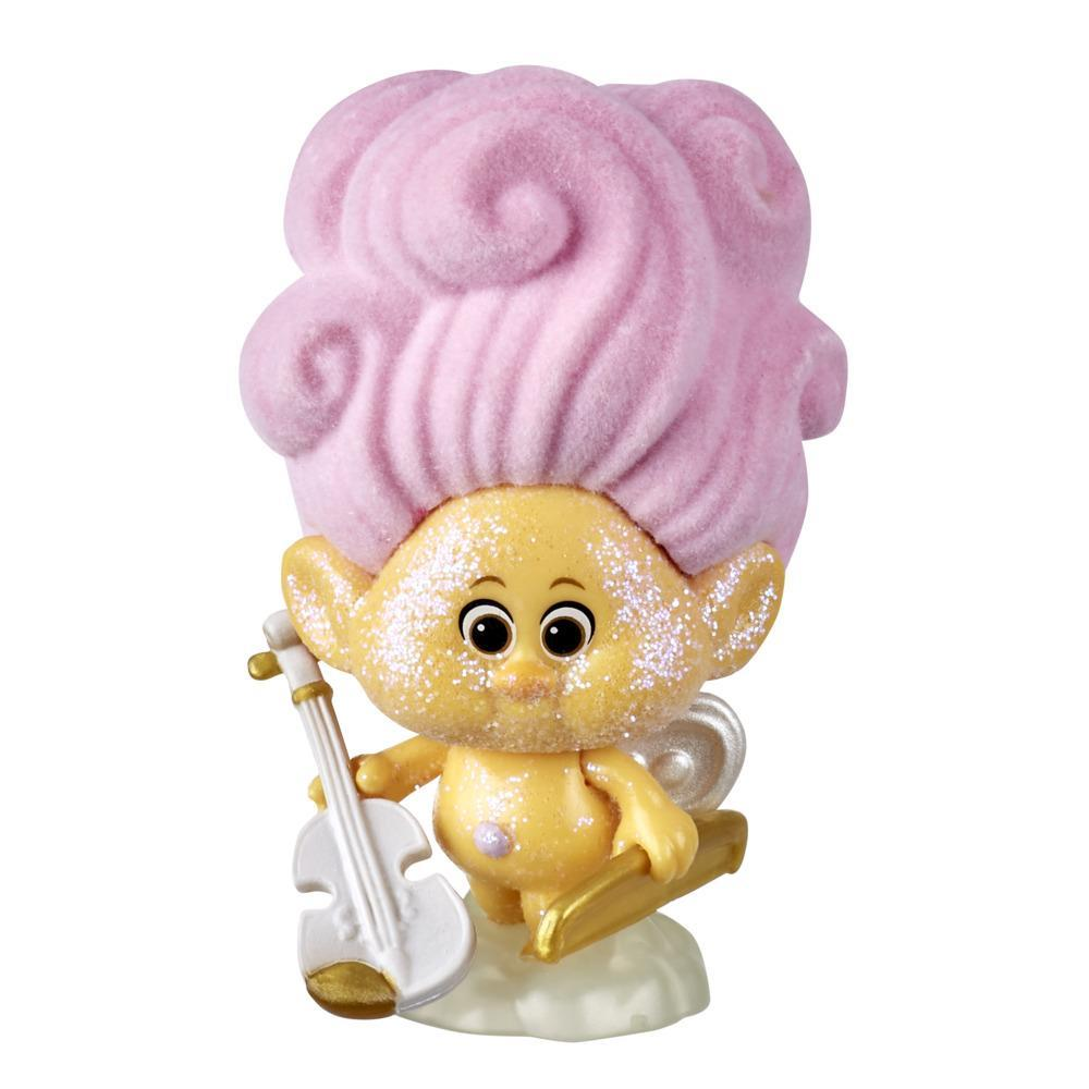 DreamWorks Trolls World Tour Cherub Doll with Violin Accessory, Collectible Toy Figure, Kids 4 and Up