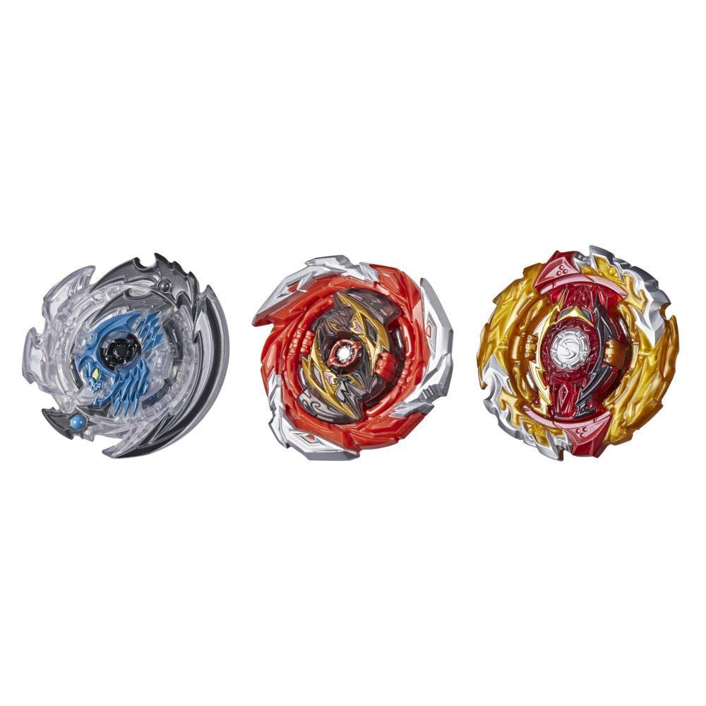 Beyblade Burst Surge Speedstorm Bolt Boost 3-Pack -- 3 Battling Game Top Toys