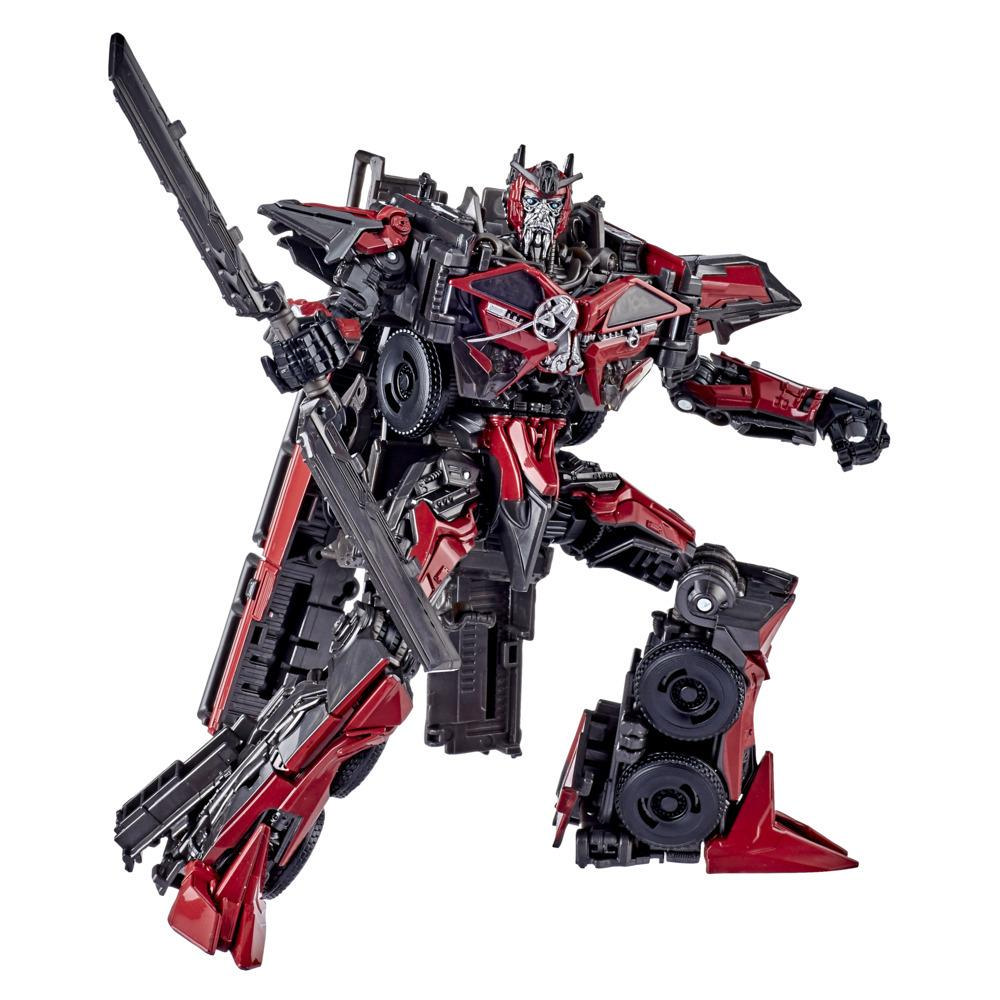 Transformers Toys Studio Series 61 Voyager Class Dark of the Moon Sentinel Prime Action Figure - Ages 8 and Up, 6.5-inch