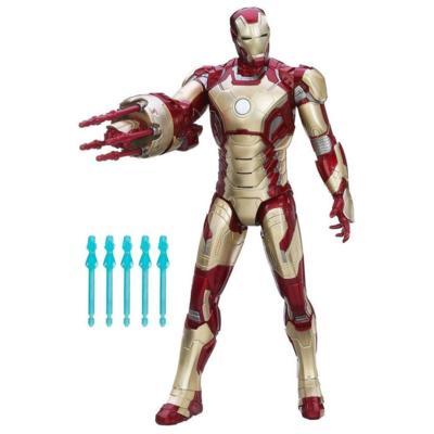 Marvel Iron Man 3 Sonic Blasting Iron Man Figure