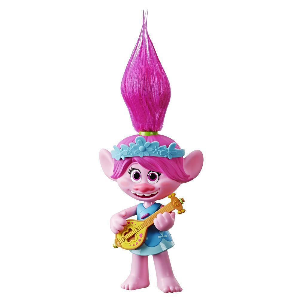 DreamWorks Trolls Popstar Poppy Singing Doll