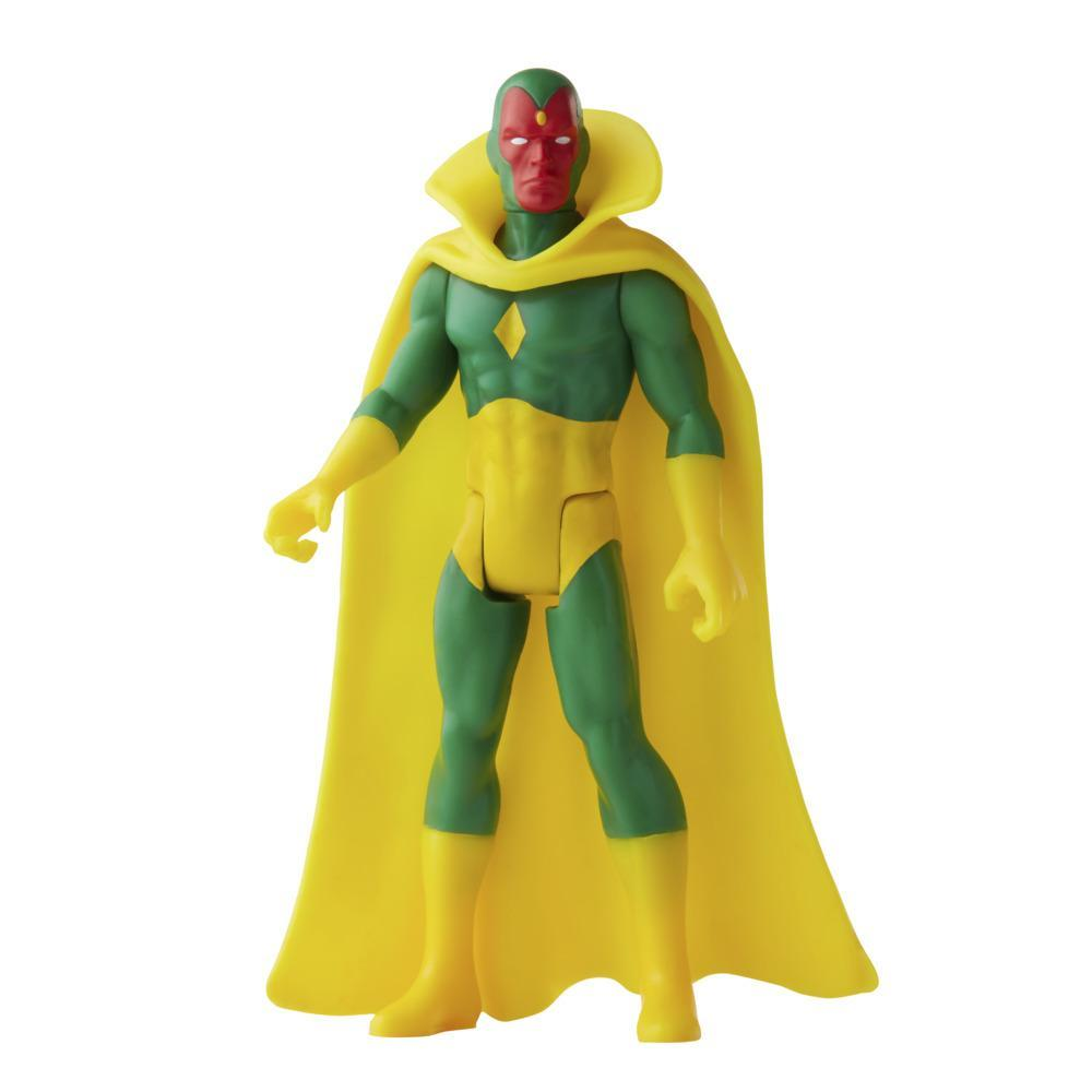 Hasbro Marvel Legends 3.75-inch Retro 375 Collection Marvel's Vision Action Figure Toy