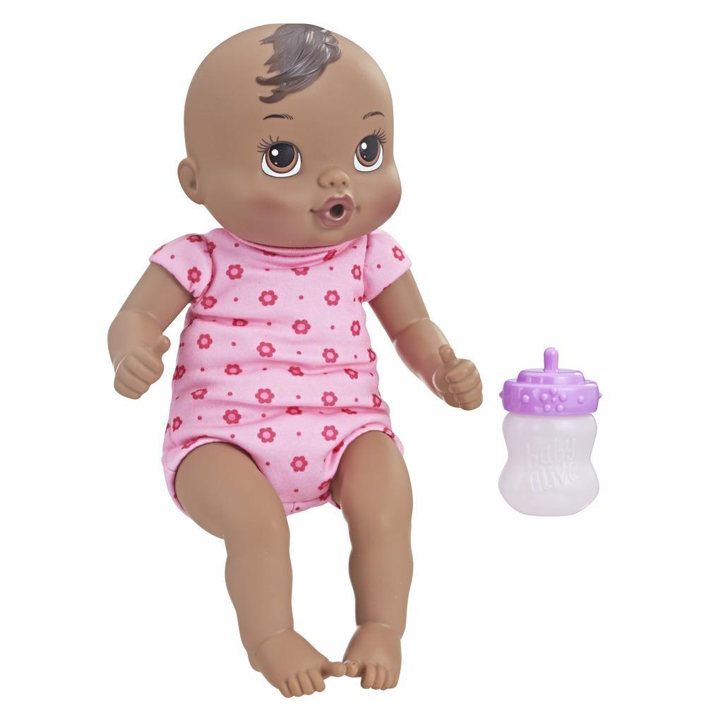Baby Alive Luv 'n Snuggle Baby (Black Sculpted Hair)