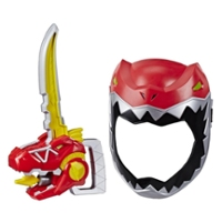 Playskool Heroes Power Rangers Zord Saber, Red Ranger Roleplay Mask with Sword Accessory, Toy for Kids Ages 3 and Up