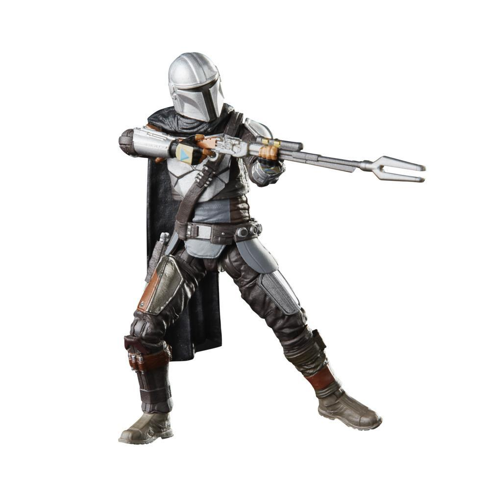 Star Wars The Vintage Collection The Mandalorian Toy, 3.75-Inch-Scale The Mandalorian Figure for Kids Ages 4 and Up
