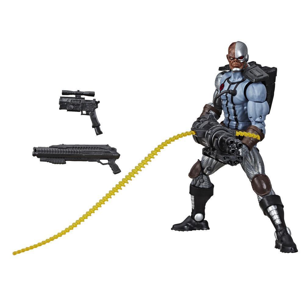 Hasbro Marvel Legends Series Deluxe 6-Inch Collectible Action Figure Deathlok Toy, Premium Design and Accessories