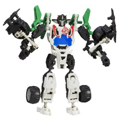 Transformers Construct-Bots Elite Class Wheeljack Buildable Action Figure