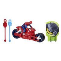 Marvel Ultimate Spider-Man Web Warriors Spider-Man Figure with Spider Speedster Vehicle