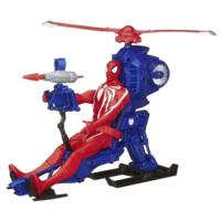 Marvel Ultimate Spider-Man Web Warriors Titan Spider-Man with Web Copter